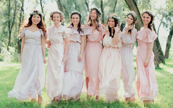 Для подружки невесты идеи
